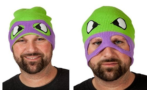 TMNT,ski masks,ninja turtles