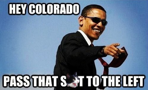 Colorado marijuana pass it barack obama week