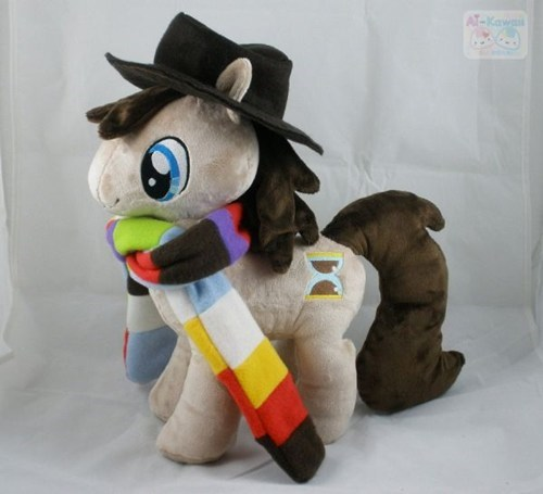 scarf,Plush,my little pony,fourth doctor,doctor who