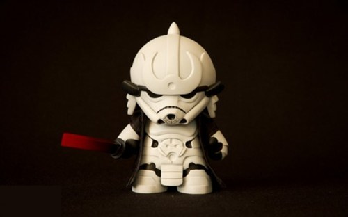vinyl samurai lightsaber toy star wars stormtrooper sword figure - 6796144640