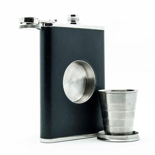 fancy shot glass alcohol booze hidden flask built in - 6796171008