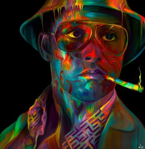 art fear and loathing in las vegas Movie Johnny Depp - 6796181504