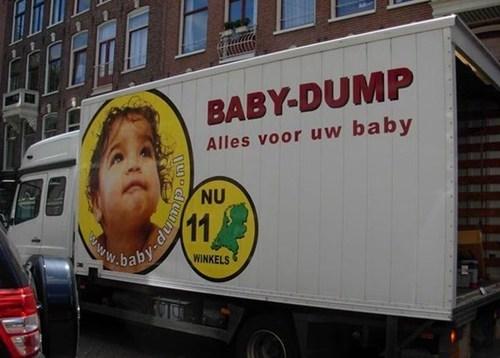 dump baby engrish whoops - 6796657920