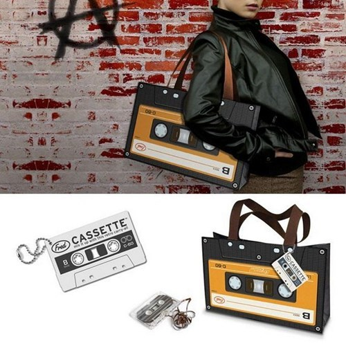 fashion,bag,cassette,tape