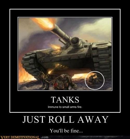 fine tank huge space