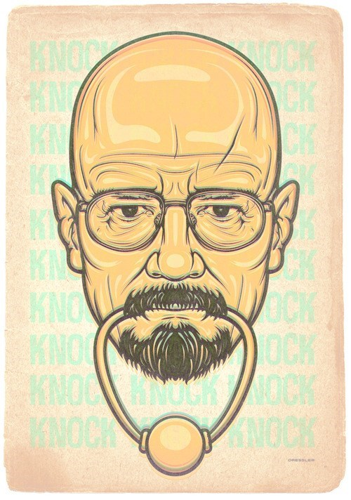 breaking bad art amc TV bryan cranston