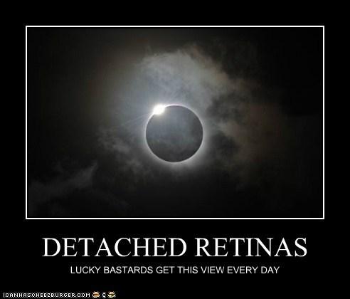 DETACHED RETINAS
