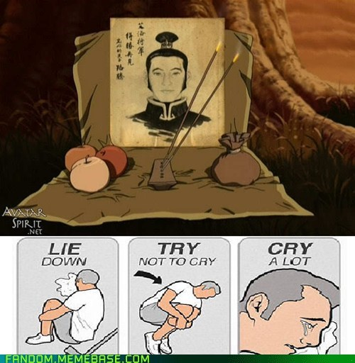 try not to cry,Avatar the Last Airbender,cartoons