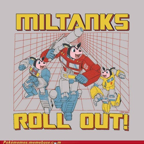 transformers,miltank,crossover,rollout