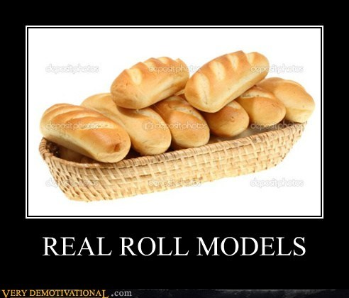 rolls models bread