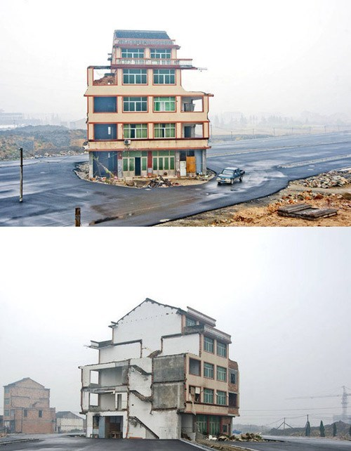 China,nail house,real estate