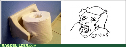 wtf seriously toliet paper genius - 6799070720