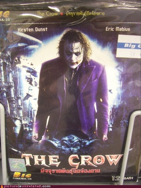 Movie,the joker,The Crow,seems legit