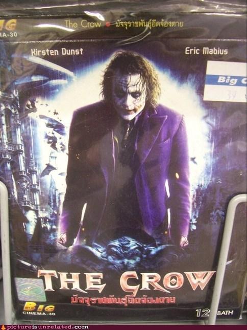 Movie the joker The Crow seems legit