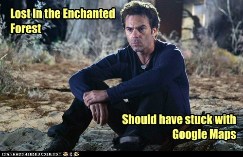Forest,google maps,enchanted,billy burke,apple maps,Miles Matheson,revolution,lost