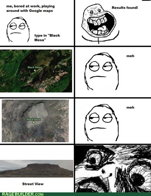 forever alone,google maps,half life,gasp,black mesa,video games,street view
