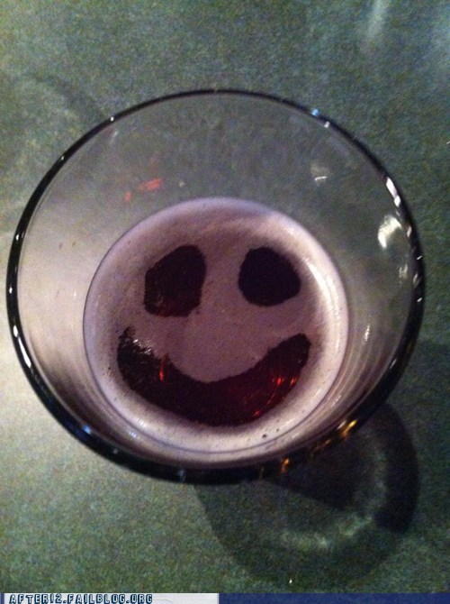 beer,happy face,happy bear
