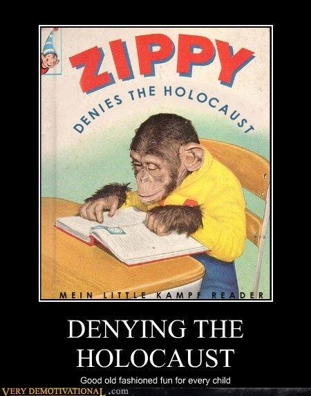 holocaust monkey zippy