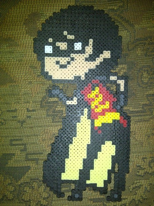 beads,robin,Fan Art,crafts,batman