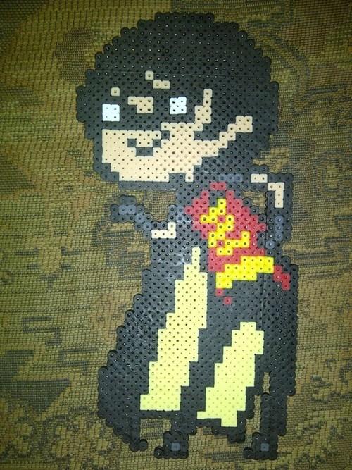 beads robin Fan Art crafts batman - 6801945088