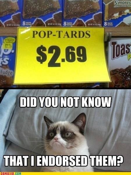 pop tarts Grumpy Cat tard rich - 6802501120