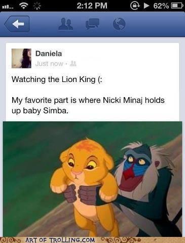 the lion king facebook nicki minaj - 6804427776