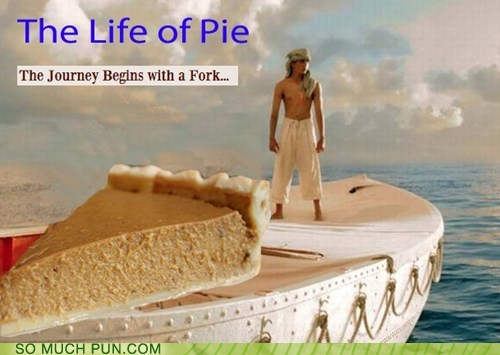 life of pi Movie adaptation pi pie literalism book homophone - 6805506816