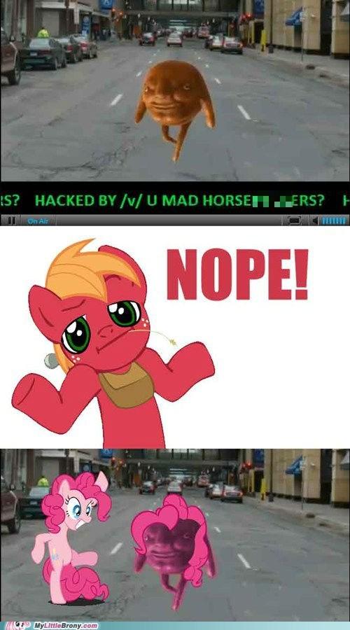 nope,hackers,bronystate,pinkie pied