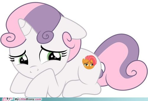 cutie mark Sweetie Belle dictionary babs