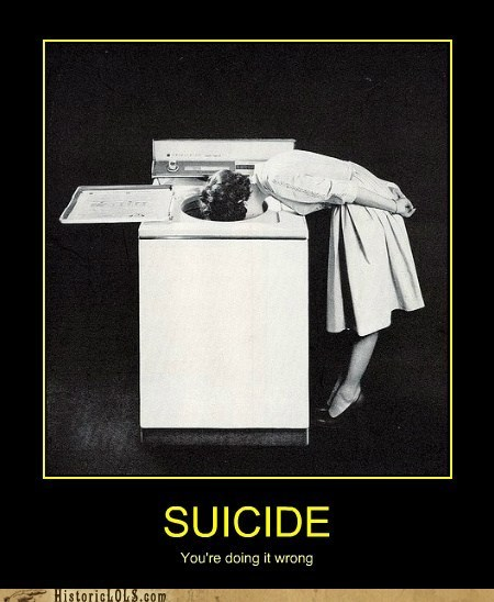 laundry suicide washing machine oven