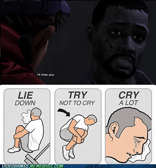 Sad,tears,heartbreaking,The Walking Dead