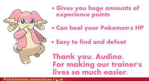 thanks trainers good guy audino - 6806532352