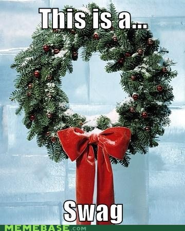 swag wreath holidays - 6806976000