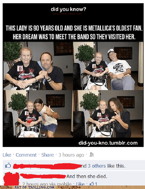 Music metallica facebook old people - 6807089408