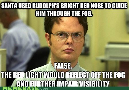 schrute facts,holidays,rudolph