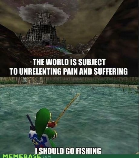 fishing,legend of zelda,video game logic
