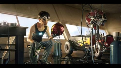 art Movie tony stark pixar iron man - 6807548160