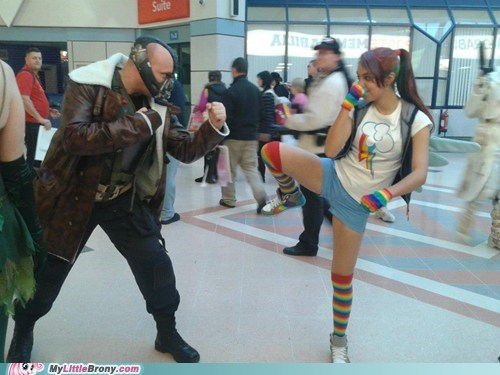 cosplay,bane,rainbow dash