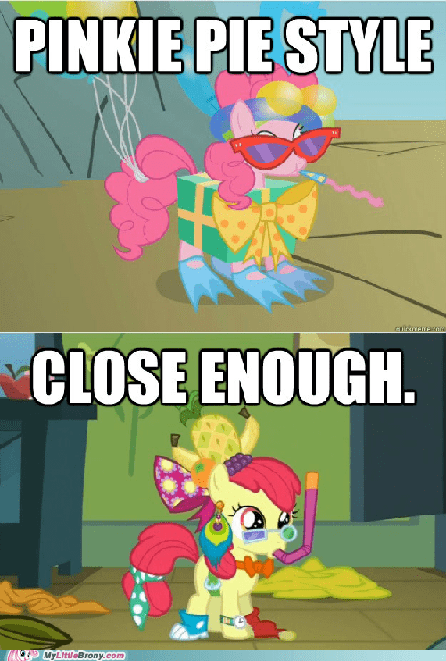 apple bloom,Close Enough,pinkie pie