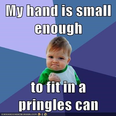 success kids,hands,pringles
