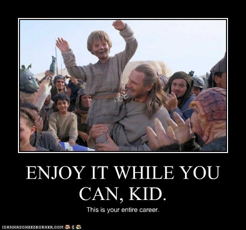 acting,liam neeson,qui-gon jinn,star wars,Jake Lloyd,enjoy,career