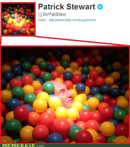 That's SIR Patrick Ball Pit to You