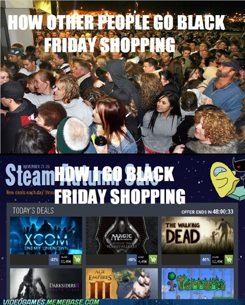 steam crazy crowds black friday sales