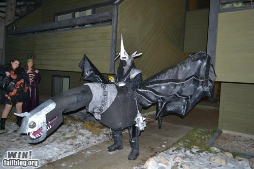 costume Lord of the Rings Nazgul nerdgasm - 6809648128
