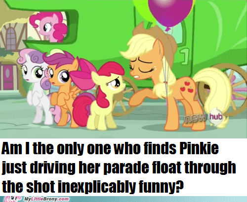 float,wtf,pinkie pie,parade,funny
