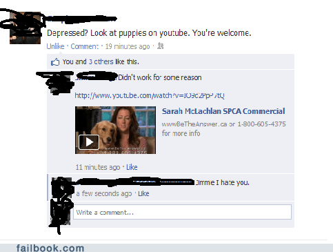 failbook aspca funny facebook fails failing on facebook