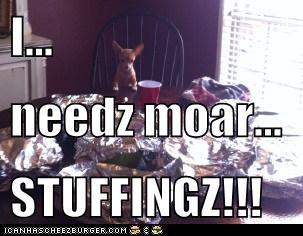 I... needz moar... STUFFINGZ!!!