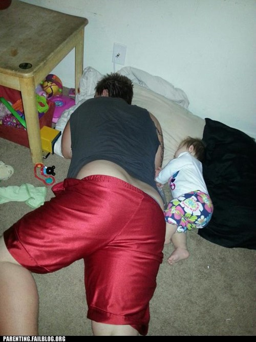 fatherdaughter sleeping - 6810629632