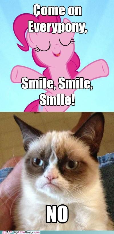 pinkie pie,smile smile smile,no,tard