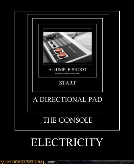 no sense of humor electricity video games - 6811718656